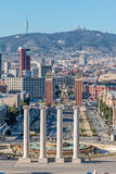 Landscape from Barcelona Stock Photography