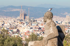Landscape from Barcelona (Spain) Stock Images