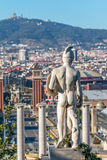 Landscape from Barcelona Royalty Free Stock Image