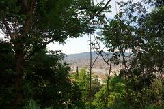 Landscape - Barcelona Stock Image