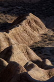 Landscape of Bardenas reales Royalty Free Stock Photography
