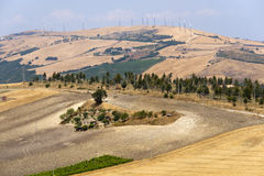 Landscape in Basilicata (Italy) Stock Images