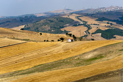 Landscape in Basilicata (Italy) Stock Photography