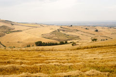Landscape in Basilicata (Italy) Royalty Free Stock Photos