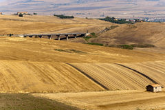 Landscape in Basilicata (Italy) at summer. Landscape in Basilicata (Italy) near Melfi at summer Stock Photo