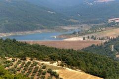 Landscape in Basilicata (Italy) at summer. Landscape in Basilicata (Italy) near Acerenza at summer stock image