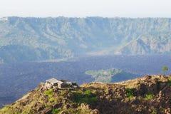 Landscape of Batur volcano Stock Image