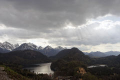 Landscape of Bavaria Royalty Free Stock Image