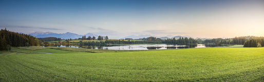 Landscape bavaria Stock Photography