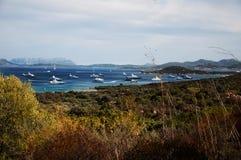 Landscape Bay of LISCIA RUJA SARDINIA Stock Photography