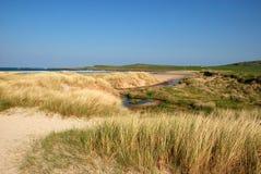 The Beach of Islay Island in Scotland. A landscape of the beach at Islay in Scotland, United Kingdom stock photo