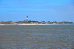 Landscape beach Sylt Stock Images