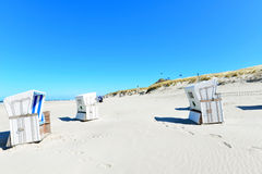 Landscape beach Sylt Stock Photography