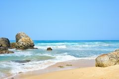 Landscape of beach Royalty Free Stock Image