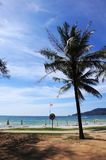 Landscape beach view in Patong beach Stock Images
