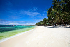 Landscape of beautiful beach Royalty Free Stock Photo