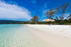 Landscape of beautiful beach Stock Photo
