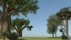 Landscape vector illustration