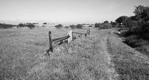 A landscape of a beautiful farmland Royalty Free Stock Images