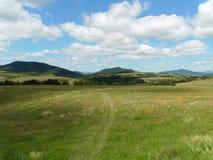 Landscape. Beautiful fields on Zlatibor mountain Stock Photos