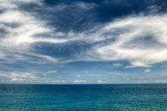 Landscape of beautiful ocean Stock Photos
