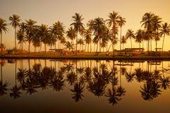 Landscape of beautiful sunrise Stock Images