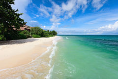 Landscape of beautiful tropical beach Royalty Free Stock Images