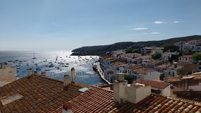 Landscape. Beautifull landcape from cadaques in spain stock photo