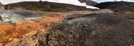 Landscape Beauty of Iceland in Europe Royalty Free Stock Photography