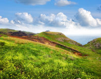Landscape beauty at Madeira island Royalty Free Stock Image