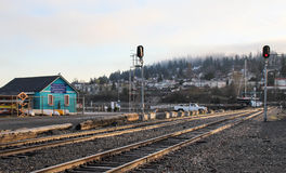 Landscape of Bellingham station Royalty Free Stock Photo