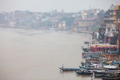 Landscape of Benares. Or Varanasi, Uttar Pradesh Stock Photography