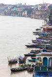 Landscape of Benares. Or Varanasi, Uttar Pradesh Stock Images