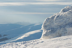 landscape berg Royaltyfri Fotografi