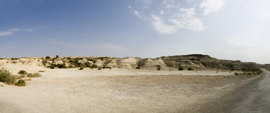Landscape in Bethany, Jordan stock photography