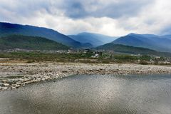 Landscape Of Bhutan Royalty Free Stock Photography