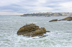 Biarritz in France Stock Photos