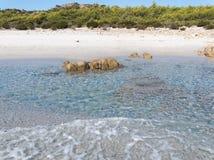 Landscape of Bidda Rosa beach  Sardinia Italy Royalty Free Stock Photo