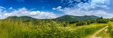 Landscape in Bieszczady Mountains Stock Photos
