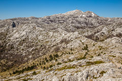 Landscape In Biokovo Mountain Nature Park-Croatia Royalty Free Stock Images