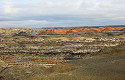 Landscape in  Bisti Royalty Free Stock Image
