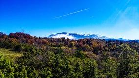 Landscape on Bjelasnica Stock Photography