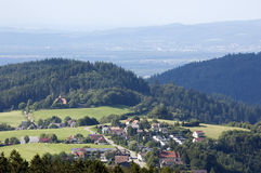 Landscape In The Black-forest Stock Photography