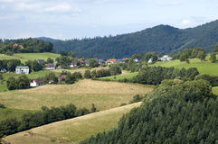 Landscape In The Black-forest Royalty Free Stock Image