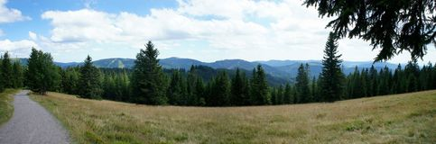 Landscape in the Black Forest, Germany Royalty Free Stock Images