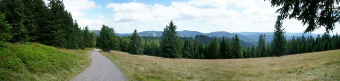 Landscape in the Black Forest in Germany Stock Photos