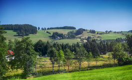 Landscape of Black Forest region of Germany Stock Image