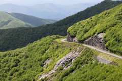 Landscape Blue Ridge Parkway North Carolina royalty free stock images