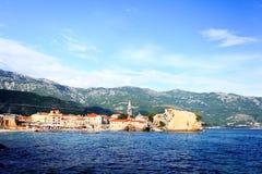 Landscape blue  sea bay Royalty Free Stock Photography