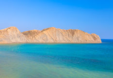 Landscape of  blue sea and hill Royalty Free Stock Photography